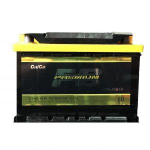 FireBall 60 Ah 600A Premium Ca/Ca