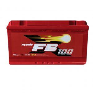 FireBall 100 Ah 800A Standart Hybrit 12V