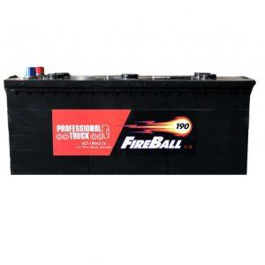 FireBall 190 Ah 1250A Econom 6-CT 12V