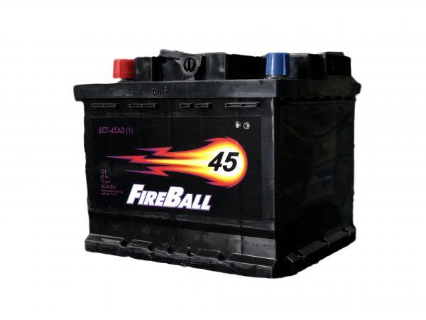 FireBall 45 Ah 380A Econom 6-CT 12V