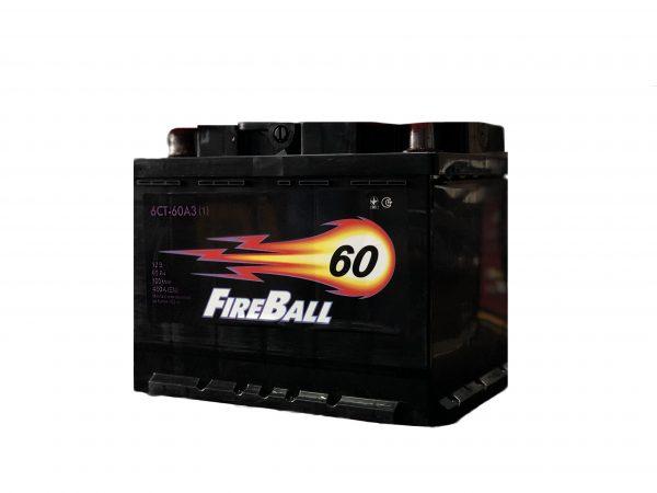 FireBall 60 Ah 480A Econom 6-CT 12V