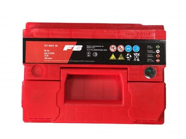 FireBall 60 Ah 540A Standart Hybrit 12V