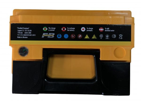 FireBall 65 Ah 640A Premium Ca/Ca