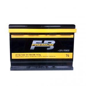FireBall 74 Ah 720A Premium Ca/Ca