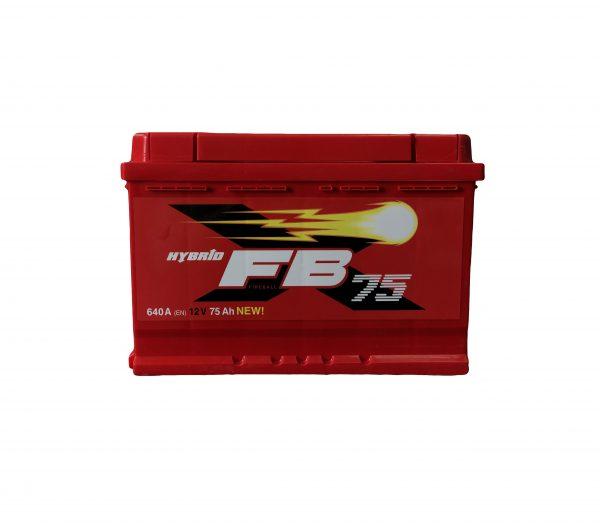 FireBall 75 Ah 640A Standart Hybrit 12V
