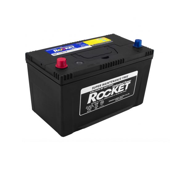 Rocket 100Ah 870A SMF Asia 12V 6CT-100