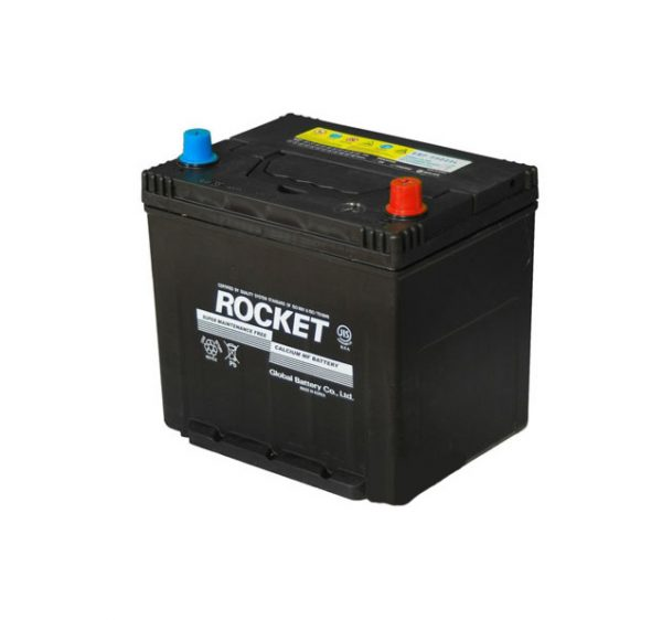 Rocket 50Ah 450A SMF Asia 12V 6CT-50