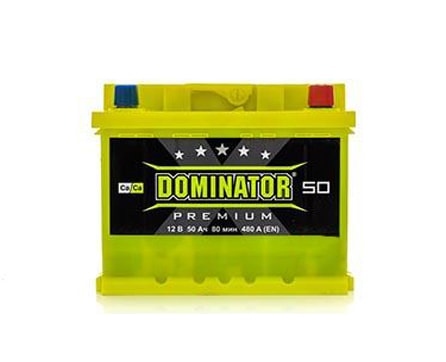Dominator 50 Ah 480A Premium Ca/Ca