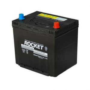 Rocket 60Ah 500A SMF Asia 12V 6CT-60