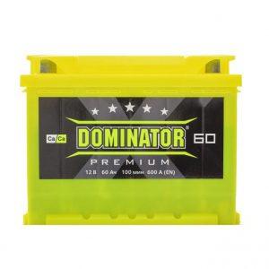 Dominator 60 Ah 600A Premium Ca/Ca