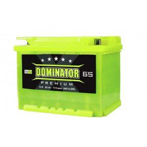 Dominator 65 Ah 640A Premium Ca/Ca