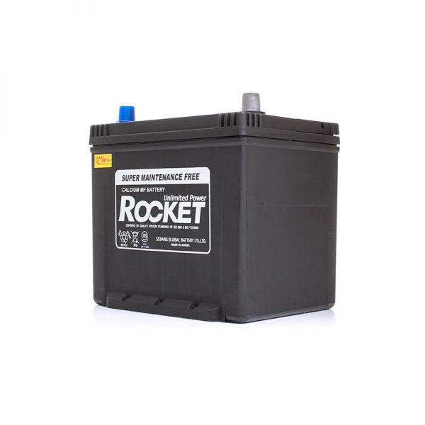 Rocket 65Ah 580A SMF Asia 12V 6CT-65