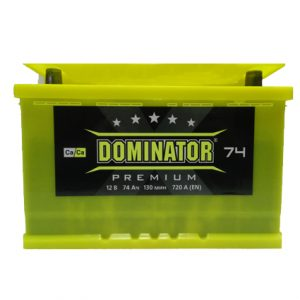Dominator 74 Ah 720A Premium Ca/Ca