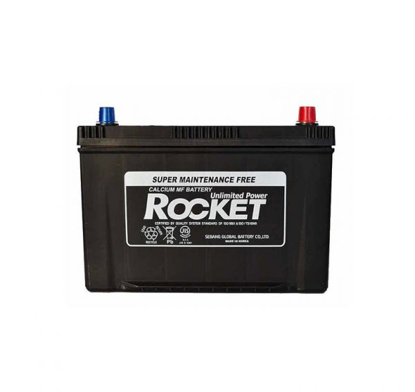 Rocket 90Ah 730A SMF Asia 12V 6CT-90