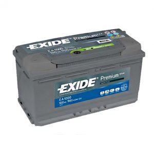 Exide Premium 100-Ah 900-A 12-V Evro