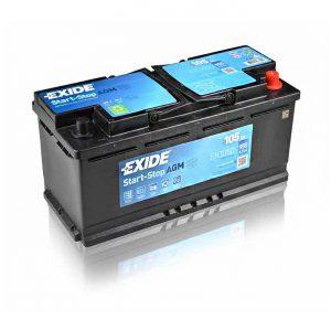 Exide AGM start-stop 105Ah 950A 12V Evro