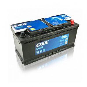 Exide Excell 110-Ah 850-A 12-V Evro