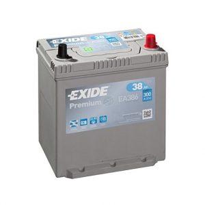 Exide Premium 38-Ah 300-A 12-V Asia