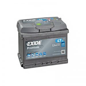 Exide Premium 47-Ah 450-A 12-V Evro