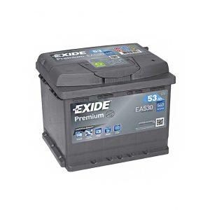 Exide Premium 53-Ah 540-A 12-V Evro