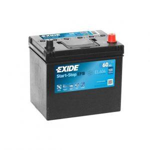 Exide EFB start-stop 60Ah 520A 12V Asia