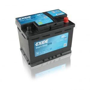 Exide EFB start-stop 60Ah 640A 12V Evro