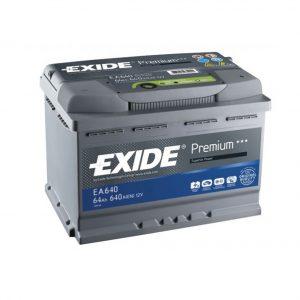 Exide Premium 64-Ah 640-A 12-V Evro