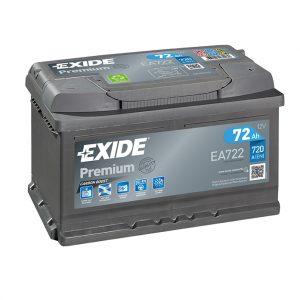 Exide Premium 72-Ah 720-A 12-V Evro