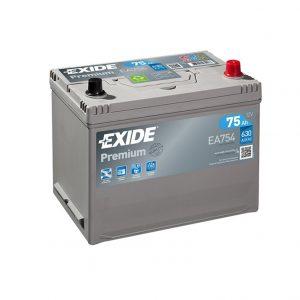 Exide Premium 75-Ah 630-A 12-V Asia