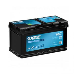 Exide AGM start-stop 95Ah 850A 12V Evro