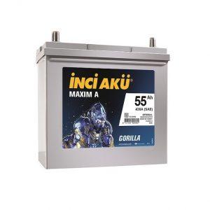 İNCİ AKU MAXIM-A 55Ah 430A ASIA