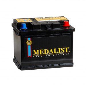 Medalist 68Ah 640A 6СТ-68 K Evro 12V