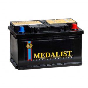 Medalist 85Ah 780A Evro (низкобазовый)