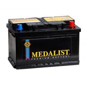 Medalist 85Ah 780A 6СТ-85 K Evro 12V